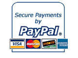 Payment Button and logo for redirection to Pay-Pal Home page.